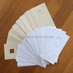 Clearance Square Handmade Card Blanks White, Ivory, Beige