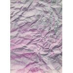 Terrain in Pink, Purple and Charcoal Grey Handmade Recycled paper