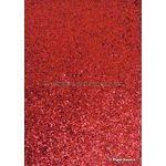 Glitter Red Coarse C03 A4 specialty paper | PaperSource